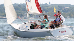 Sailors with disabilities compete at elite level