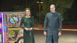 Prince William and Kate's tour in Pakistan