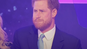 Prince Harry cries talking about being a father