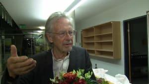 """Handke über Frage zu Stanišić-Kritik: """"Verschwinden Sie sofort, bitte!"""""""