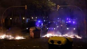 Erneut Krawalle in Katalonien: Regionalregierung verurteilt Gewalt