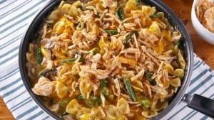 Green bean casserole pasta