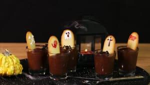 Gruselig und lecker: Mousse au Chocolat aus dem Jenseits
