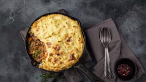 Simple way to make shepherd's pie
