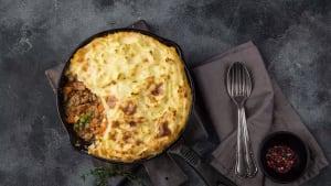 Simple way to make shepherd's pie