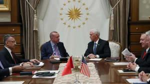 Pence kündigt Feuerpause für Nordsyrien an - Kurden wollen sie akzeptieren