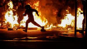 Barcelona brennt: Neue Unruhen vor Generalstreik