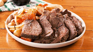 Slow cooker pot roast is an instant classic