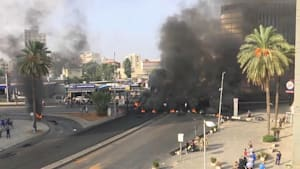 Ausschreitungen bei Protesten im Libanon
