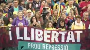Unabhängigkeitsbefürworter legen Katalonien mit Generalstreik lahm