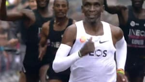 How Kenyan legend Eliud Kipchoge made history