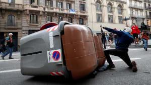 Separatisten-Proteste: Wieder Gewalt in Barcelona