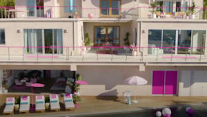 Barbie's Dreamhouse listed on Airbnb