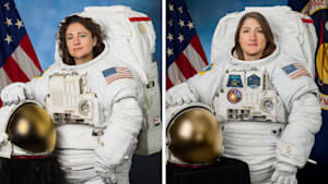 Duo makes history with first all-women spacewalk