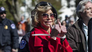 Jane Fonda, Sam Waterston arrested at protest