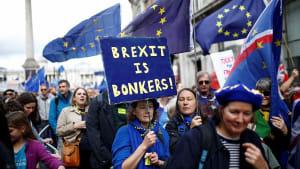 Hunderttausende demonstrieren gegen Brexit