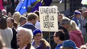 Hunderttausende bei Anti-Brexit-Demo in London