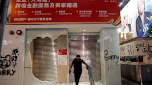 Heftigste Krawalle in Hongkong seit Wochen