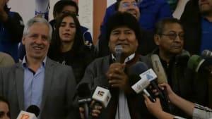 45,3 Prozent der Stimmen - Morales muss trotzdem in die Stichwahl