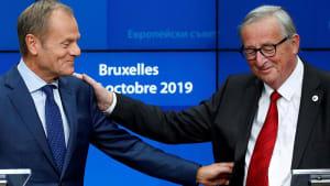 Tusk und Juncker vor unterschiedlichem Rentner-Dasein