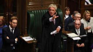 Brexit-Krise: Bercow durchkreuzt Johnsons Pläne