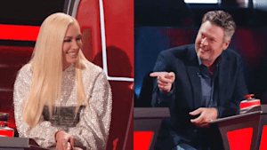 Gwen Stefani on her chemistry with Blake Shelton