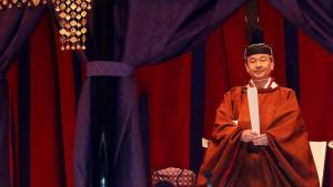 Ritual in Tokio: Kaiser Naruhito (59) verkündet Thronbesteigung