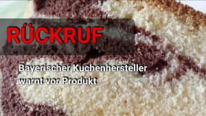 Rückruf: Vorsicht vor diesem Marmorkuchen