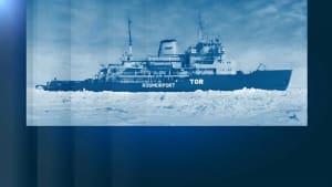 Russischer Eisbrecher sendet Notruf vor Norwegen