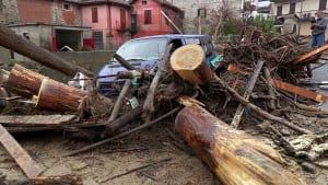 Tote bei heftigen Unwettern in Norditalien
