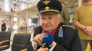 Messerschmitt-Pilot Endre Franko (96) hat das Fliegen im Blut