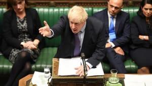 Nach Niederlage im Parlament: Johnsons Brexit-Deal liegt auf Eis