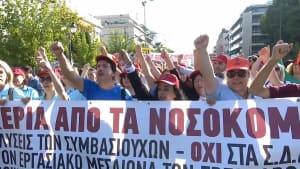 Wegen Unterbesetzung und Privatisierungsplänen: Streiks in Athen