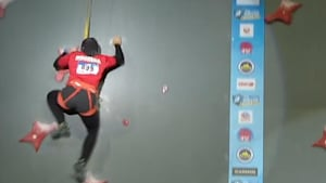 Real 'Spider-Woman' smashes speed climbing record