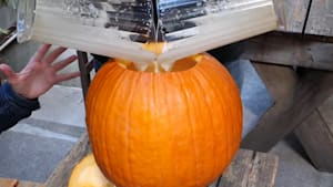 This restaurant serves beer in pumpkin kegs