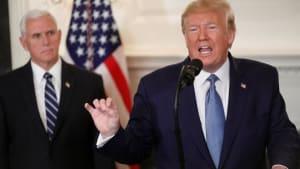 Trump: Türkei kündigt dauerhafte Waffenruhe in Nordsyrien an