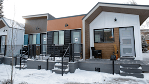 Tiny Home Village For Veterans Opens In Calgary
