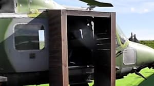 Campground lets you sleep in a military helicopter