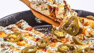 How to make cast-iron cowboy pan pizza by Rachael