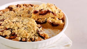 Learn to make amazing streusel topping