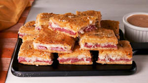 Reuben Squares Go The Extra Mile