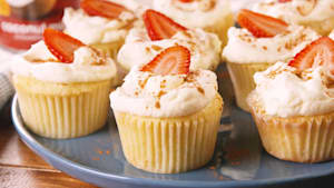 Tres leches coconut cupcakes are the sweetest