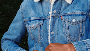 This is a smart denim jacket