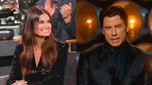Idina Menzel wants favor John Travolta 'owes' her