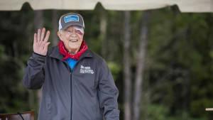 Früherer US-Präsident Jimmy Carter im Krankenhaus