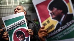 Bolivien: Mexikos Luftwaffe fliegt Morales ins Exil