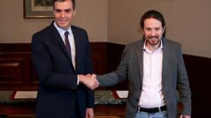 Deal nach 48 Stunden: Sanchez und Iglesias unterzeichnen Vorabkommen