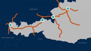In diesen Grenzregionen will Österreich die Mautpflicht aufheben