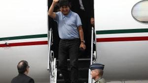 """Evo Morales auf der Flucht: """"Mexiko hat mein Leben gerettet"""""""