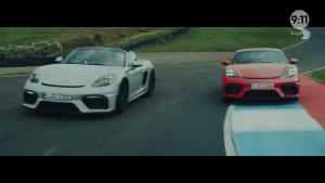 9:11 Magazine - Episode 13 - Porsche 718 Spyder und Cayman GT4